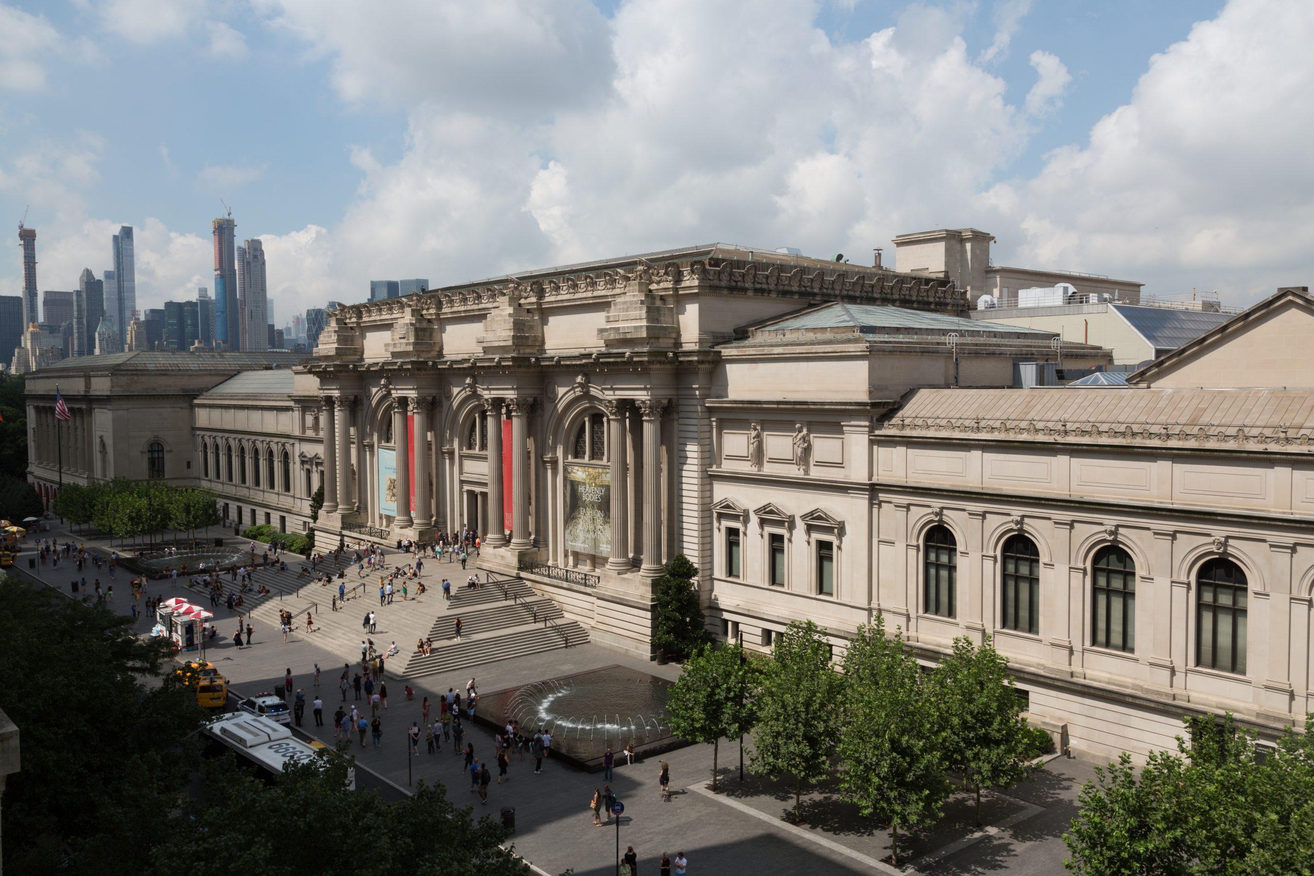 Exterior view of the Metropolitan Museum of Art